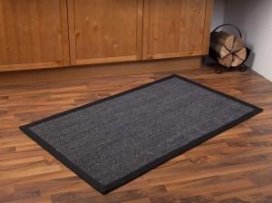Hochwertiger Sisalteppich mit rutschfestem Latex an der Rückseite